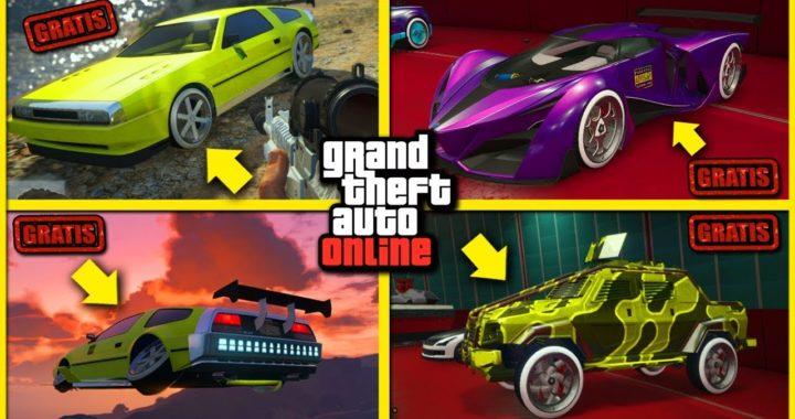 GTA 5 Online - COMO TENER AUTOS GRATIS EN GTA V - Cualquier AUTO!