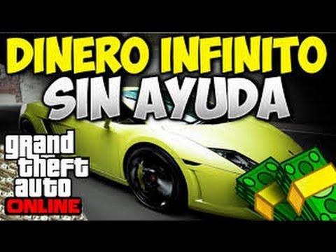 GTA 5 ONLINE NUEVO TRUCO DE DINERO SIN AYUDA!!! Si HACK 2017