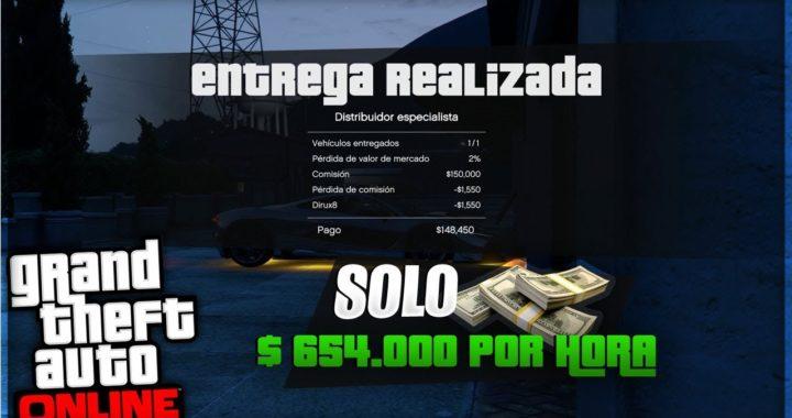 GTA Online: Cómo hacer $654.000 por hora LEGALES   Maneras de ganar dinero