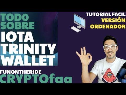¡IOTA TRINITY WALLET! ORDENADOR ¡ASEGURA TUS IOTA! CryptoFAQ - FunOntheRide