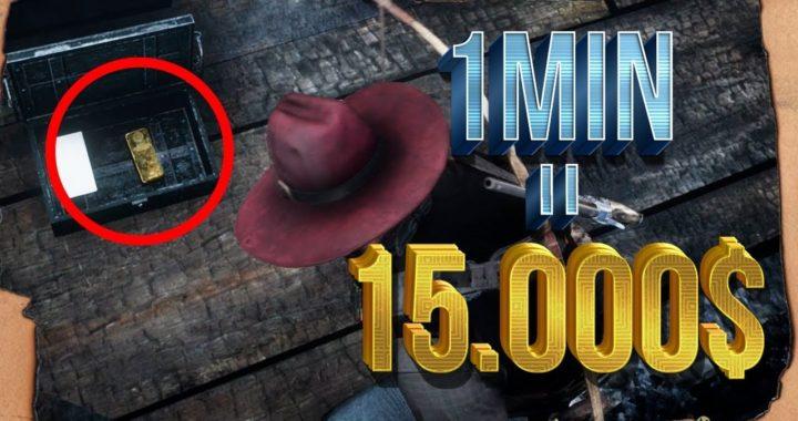 La forma mas FÁCIL de CONSEGUIR DINERO en Red Dead Redemption 2