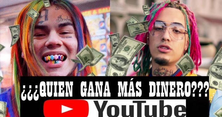 LIL PUMP VS 6IX9INE: ¿Quién gana más DINERO en YouTube?
