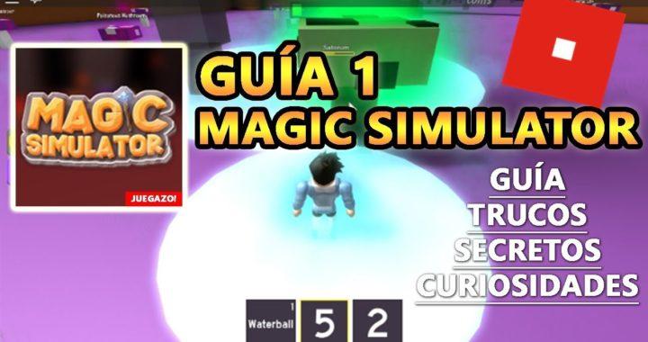 Magic Simulator, Como Subir de Nivel Rápido y Hacer Mucho Dinero, Roblox Español Guía Tutorial 1
