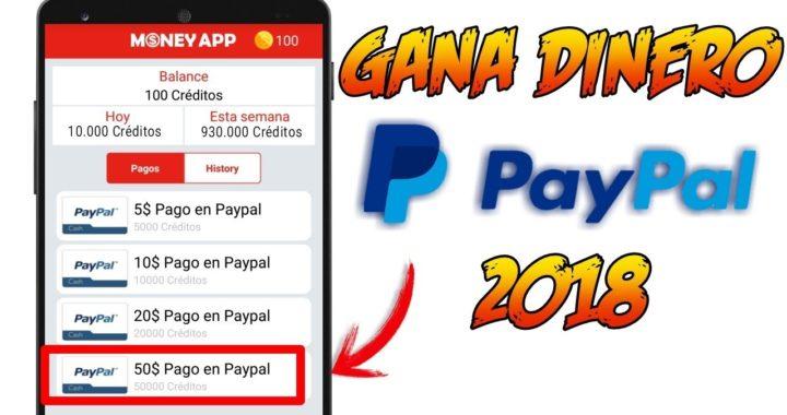 Money App   Gana DINERO PAYPAL 2018   Ronny