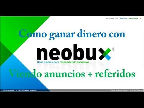 Neobux parte 1: Gana dinero viendo anuncios + referidos directos