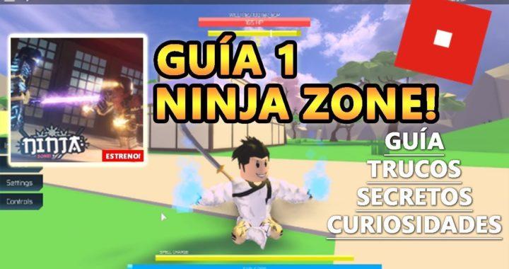 Ninja Zone! Como Jugar, Subir de Nivel y Ganar Dinero, Roblox Español Guía Tutorial 1