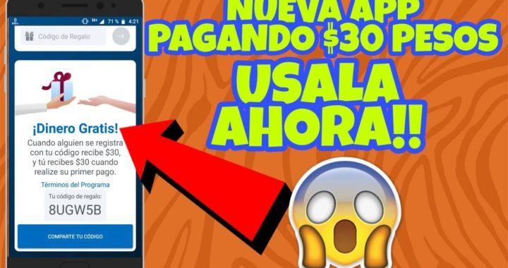 NUEVA IMPRESIONANTE APP QUE PAGA $30 PESOS POR REGISTRARTE | GANA DINERO EN INTERNET | ANDROID & IOS