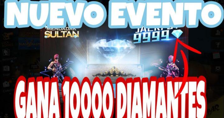 NUEVO EVENTO PARA GANAR 10000 DIAMANTES FREE FIRE