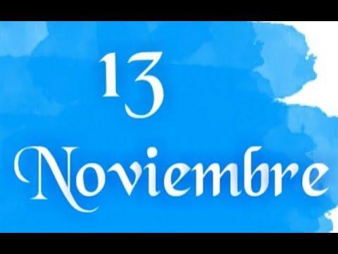NUMEROS PARA HOY 13/11/18 DE NOVIEMBRE