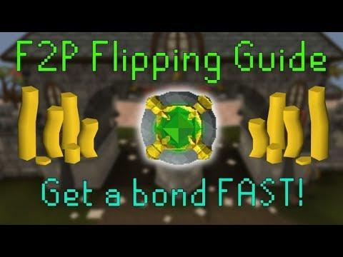 [OSRS] Guía de como hacer Flipping (F2P) Obten tu primera Bond Fácil!