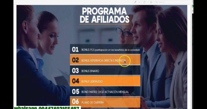 Plan de compensacion INEXX gane 3% diario y 300% del capital