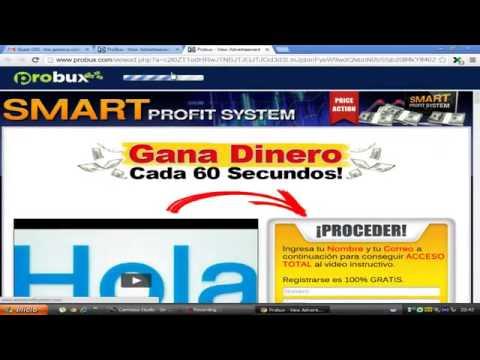PROBUX | GANA DINERO PARA PAYPAL. HASTA 500 DOLARES en 2 MESES