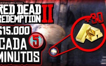 Red Dead Redemption 2 - Como tener DINERO ILIMITADO CADA 5 MINUTOS - XBOX ONE Y PS4