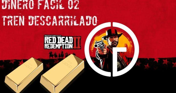 Red Dead Redemption 2 - Dinero Fácil - Tren Descarrilado