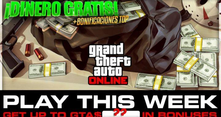 *¡Rockstar REGALA DINERO!* #59 GTA ONLINE | Semana de Bonificaciones (20-26 Noviembre)