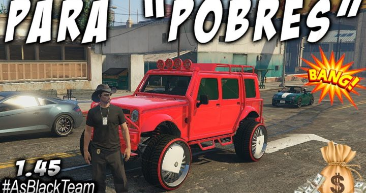 "*SOLO MONEY GLITCH* - TRUCO PARA GENTE ""POBRE"" - GTA V - ""COCHES GRATIS"" - 