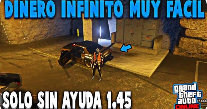 SOLO SIN AYUDA! TRUCAZO DINERO INFINITO DUPLICAR COCHES MATRICULA LIMPIA GTA 5 ONLINE 1.45 PS4/XBOX1