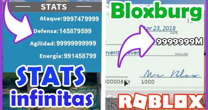 STATS INFINITOS EN DBR Y DINERO INFINITO En Bloxburg | Skisploit | Roblox