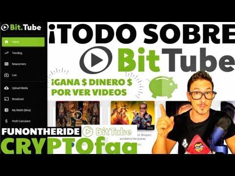 ¡TODO SOBRE BITTUBE! ¡GANA $ POR VER VIDEOS! /CRYPTOfaq - FunOntheRide