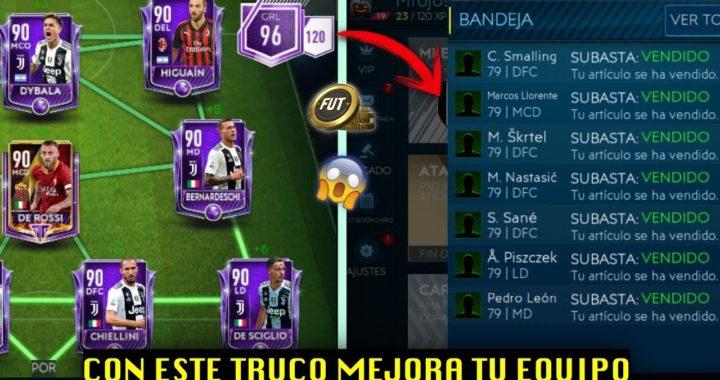 TRUCO PARA GANAR MUCHAS MONEDAS EN FIFA MOBILE 19 Y MEJORAR TU EQUIPO!!!