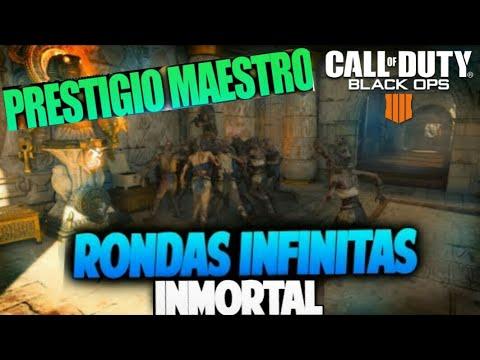 Truco Rondas Infinitas En IX Y Prestigio Maestro Muy Fácil!!! Black Ops 4 Zombis