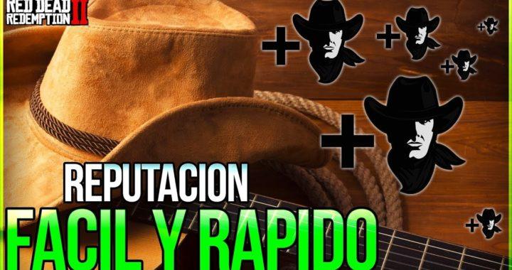 """""""Tuto TRUCO"""" Como GANAR BUENA REPUTACION MUY RAPIDO Y FACIL En Red Dead 2 (Ser Bueno + + +)"""