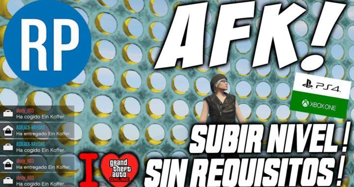 AFK* – | SIN REQUISITOS | – RP y $$$ INFINITO! – SUBIR DE