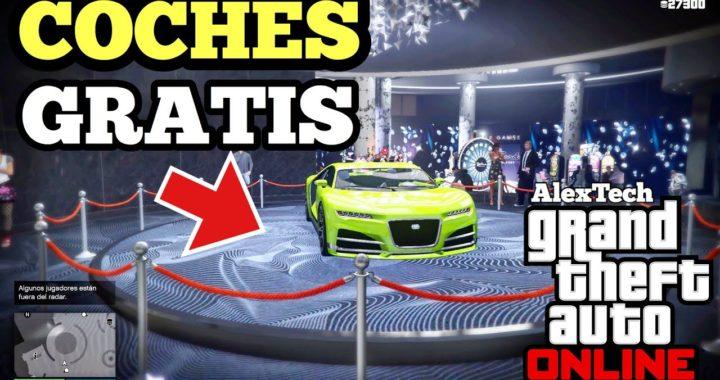 COMO CONSEGUIR COCHES GRATIS EN GTA 5 ONLINE! (GTA V ONLINE